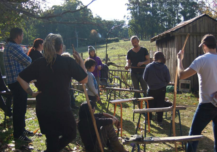 Traditional Wooden Longbow Making 3