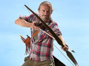 warrior lars richter with longbows