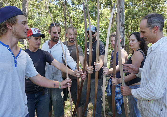 Traditional Wooden Longbow Making Workshop